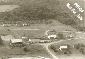 Aerial view john brown property 1968